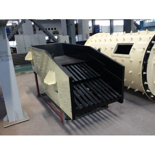 Large Capacity Used Small Rotary Vibrating Grizzly Feeder