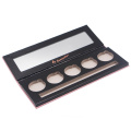 Eco packaging empty magnetic makeup eyeshadow