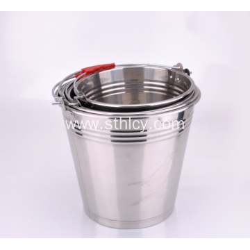 Durable Stainless Steel Household Bucket