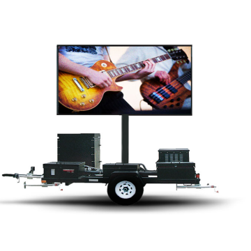 Outdoor Trailer Mobile LED Screen For Movable Advertising