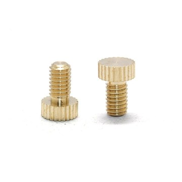 Decorative Slotted Brass Cap Machine Screw
