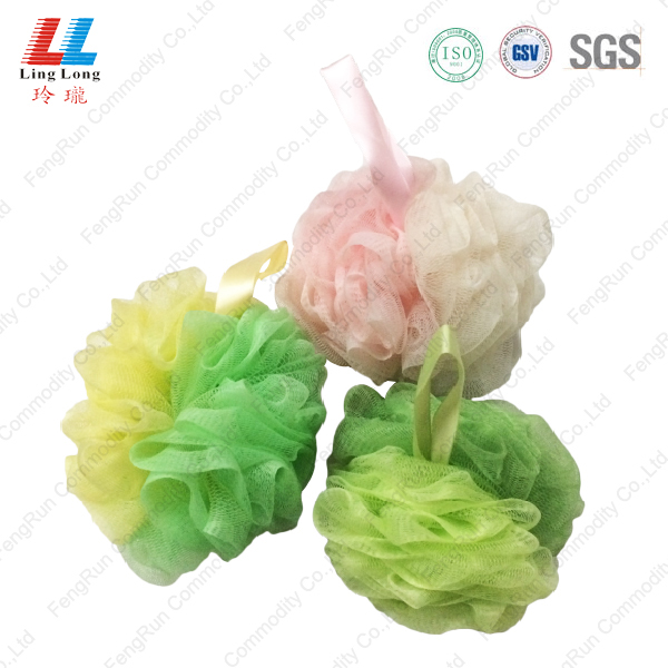 Loofah charming mixture sponge ball