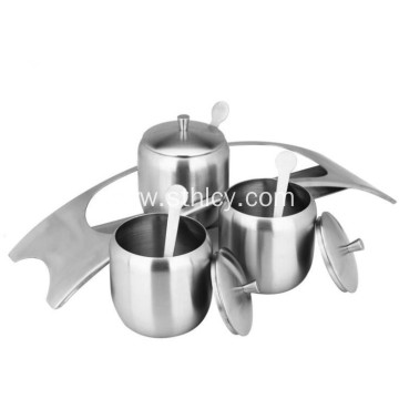 304 Stainless Steel Condiment Pots Wholesale