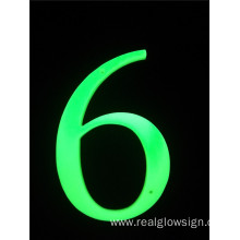 Realglow 3D Number 6