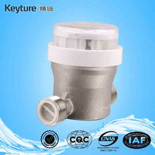 Drinkable Purified Water Meter With Stainless Steel Body
