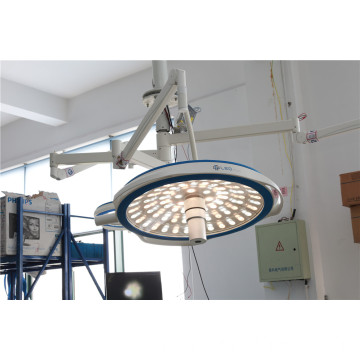Floor mobile led surgical light with battery