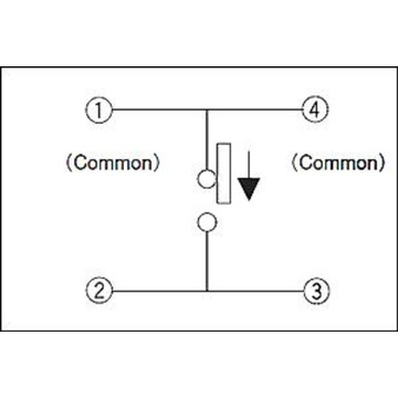 Positioning Pin Bidirectional Switch