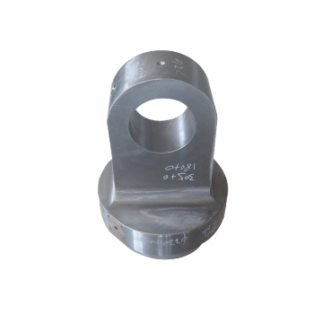 Forged bottom end cap forged clevis