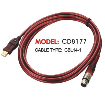 Red Brown Audio Link Cables