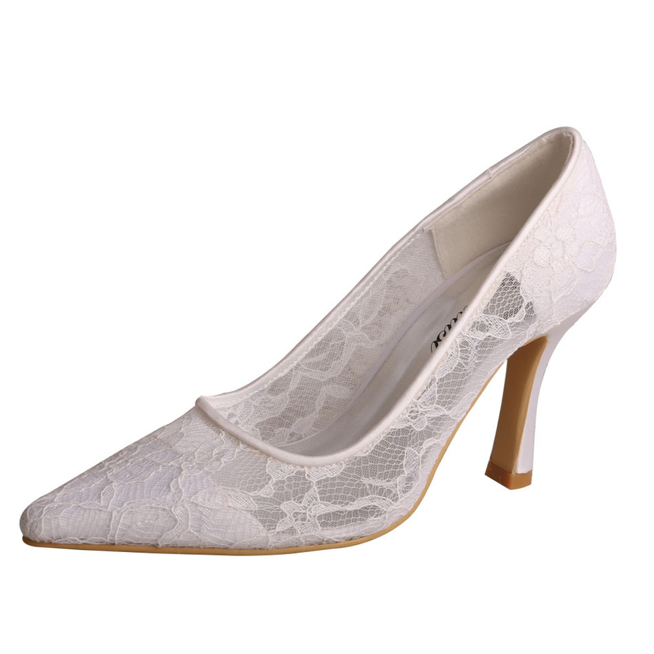 Bride Shoes White