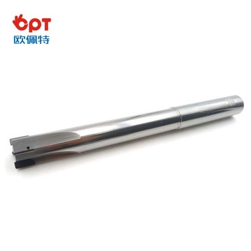 PCD boring end mill cutter angular aluminum