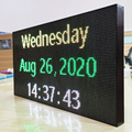 Word Display Christmas Banner LED Billboard Sign Rolling Subtitle Multi Show Phone WiFi Control
