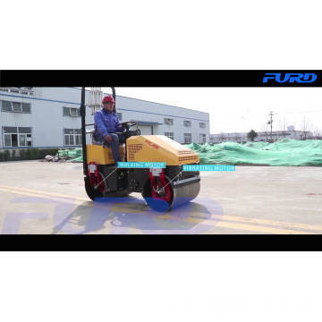 Hydraulic Vibration Price Road Roller Compactor with Imported Pump (FYL-890)