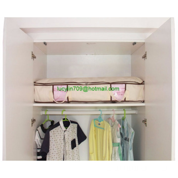 Folding Under Bed Storage para edredons, cobertor, roupas organizador