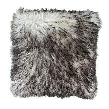 "18"" x 18"" Tibetan Lamb Fur Pillow Single Sided Fur Many Colors"