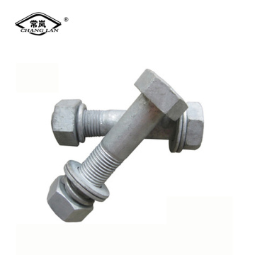 Fasteners:Hot Dip Galvanized Bolts And Nuts Set