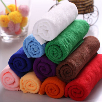10pcs/lot Cotton Kitchen Towels Face Cloth Waste-absorbing Wool Thickening Wash Towel Auto Care Microfiber Cleaning Cloth KC1096