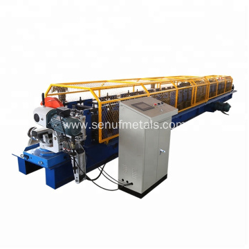 PLC Control Hydraulic Cutting Rolling Tube Machine