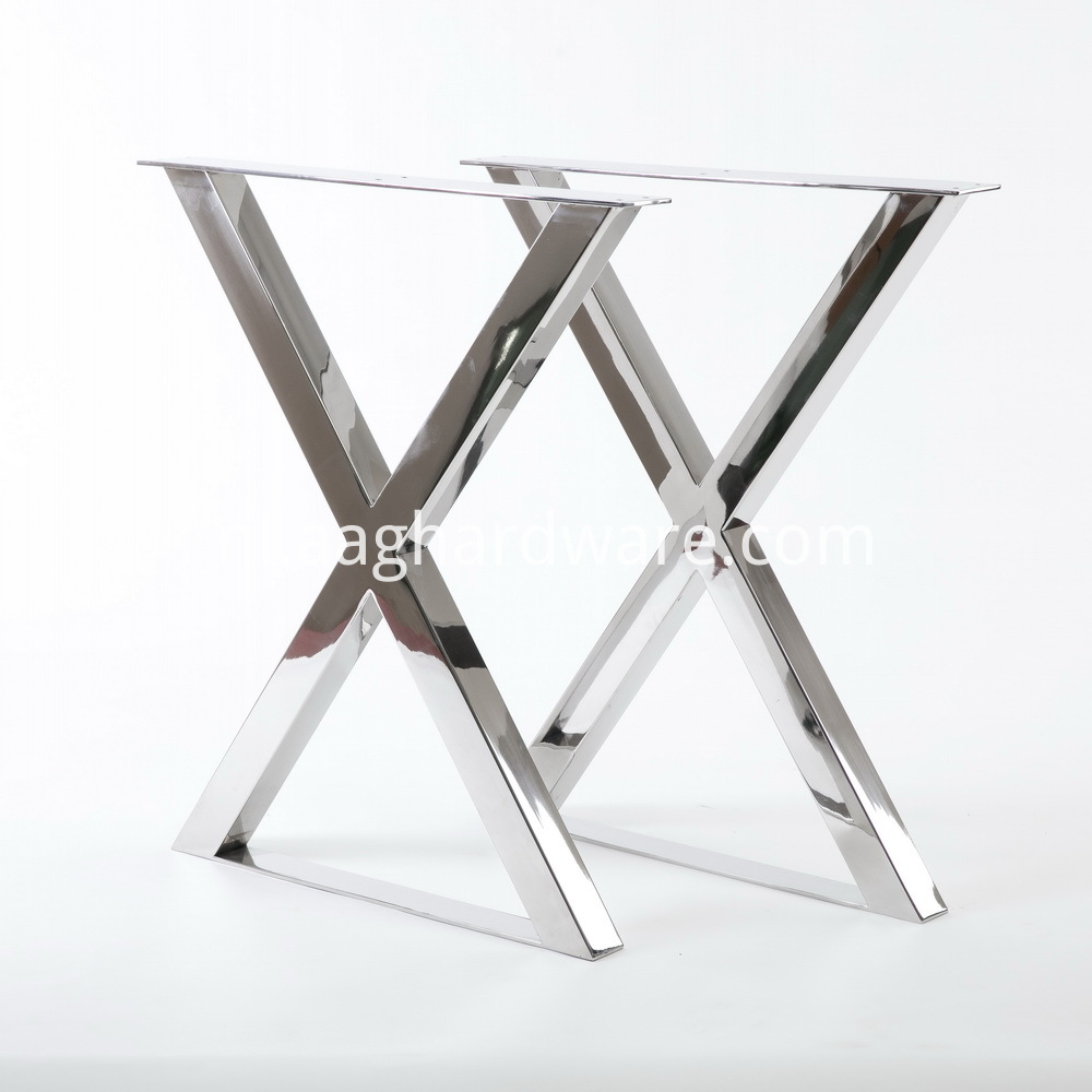 stainless steel table legs