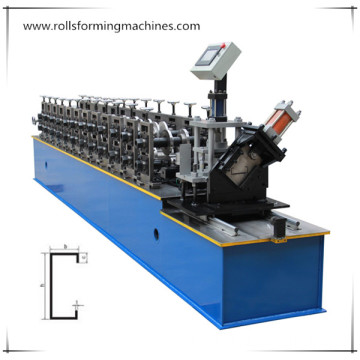 C Strut Channel Forming Machine