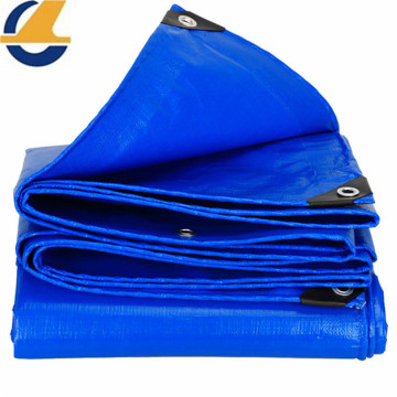 Patching Poly Tarps Blue Color