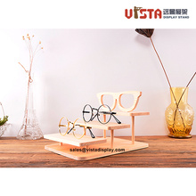 Countertop Solid Wooden Glasses  Display Stand