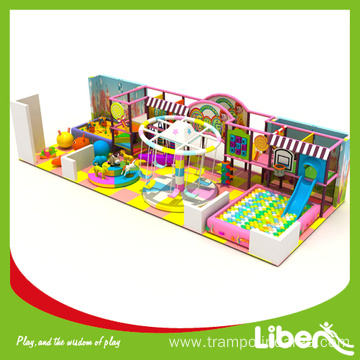 Indoor playground system center design