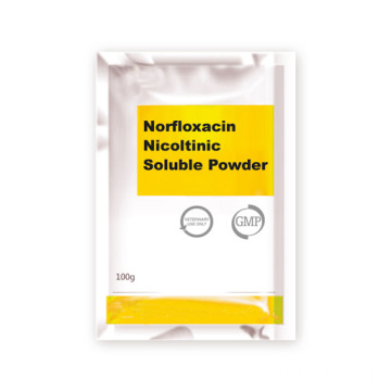 Norfloxacin Nicotinic Soluble Powder 20% for Vet