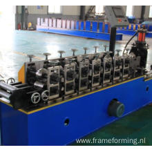 Servo Motor non stopping tracking cutting High Speed Triangular Keel Forming Machine
