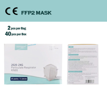 FFP2 KN/N95 Dust Face Surgical Respirator Mask