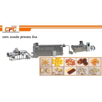 corn puff snacks machine