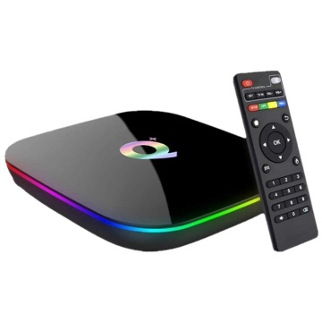 TV Box Android 9.0 Quad Core 6K H.265 HDR 2.4GHz Wifi Support Google Player Youtube IPTV Set Smart Top Box EU Plug