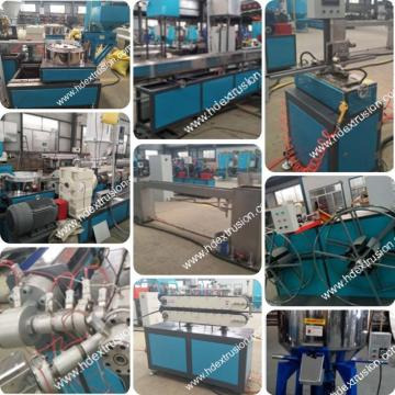 Round Dripper inside Irrigation PE Pipe Manufacturing Machine
