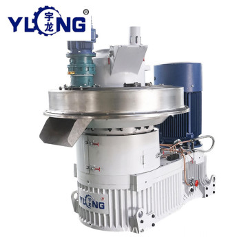 YULONG XGJ560 1.5-2TON/H cotton stalks pellet making machine