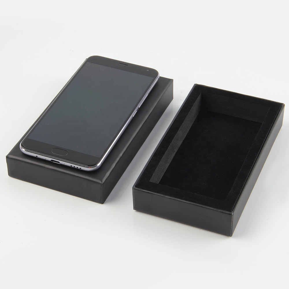 Cardboard Cellphone Packaging Gift Box With Lid