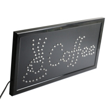 CHENXI Led Coffee Advertising Sign Billboard Animated 19*10 Inch Coffee Open Store Business Sign Led.