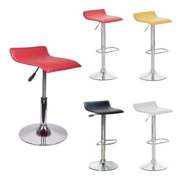 2PCS/Set European-style Square Board Bar Chairs Soft PU Leather Adjustable Kitchen Chairs With Footrest BarStools Funiture HWC