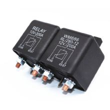 RL280 Car Emergency Power Starting Relay DC 12/24V 1.8/4.8W 200A High Current Power Start/Continuous Relay for Vehicle Car