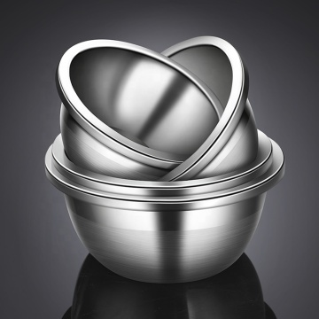 Multipurpose Deep Salad Mixing Stainless Steel Bowl