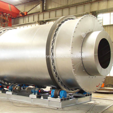 Three Cylinder Rotary Drum Dryer For Slag Drying