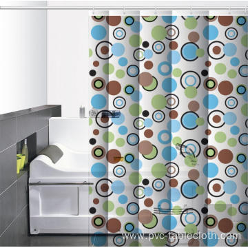 Waterproof Bathroom printed Shower Curtain Christmas