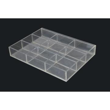 Clear Lucite 9 Slots Display Box