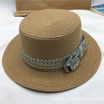 Cool girls summer vacation paper straw hat