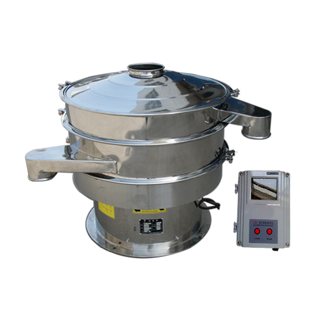 Stainless steel Ultrasonic vibrating screen for sugar