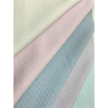 Polyester Cotton Tooling Jacquard Blended Dyed Fabric