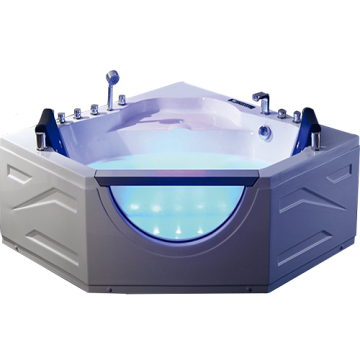 Intelligent Small Bath Corner Massage Whirlpool Tub