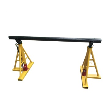 Cable Jack Drum Cable Reel Stand With Hydraulic lifting up