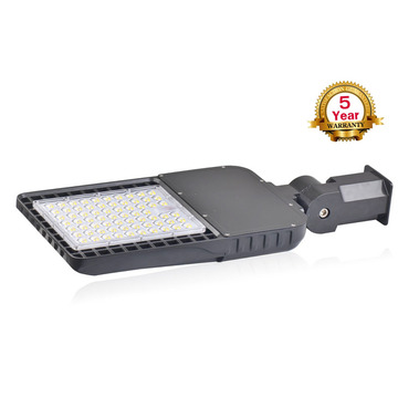 led parking lot light 150w shoebox pole light