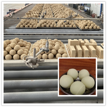 High Density Porcelain Ceramic Grinding Alumina Ball