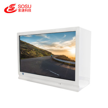 hot selling digital signage transparent showcase lcd screen